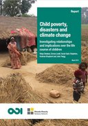 Child poverty, disasters and climate change: investigating relationships and implications over the life course of children