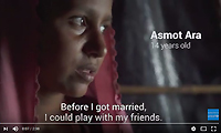 Family killed & married at 13 - reality for Rohingya refugees