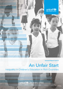 An Unfair Start - Inequality in Children's Education in Rich Countries