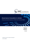 Governance Innovation in Action